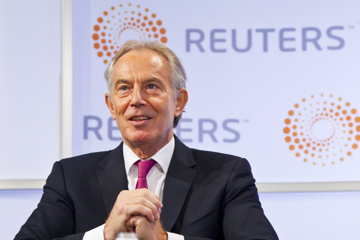Reuters Newsmaker with Tony Blair, Former Prime Minister of the United Kingdom