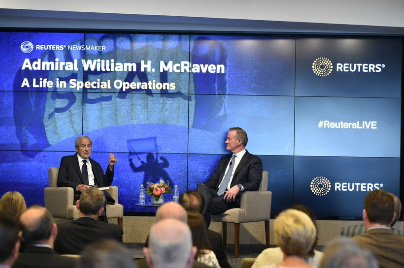 Reuters Newsmaker with Admiral William H. McRaven, U.S. Navy Retired