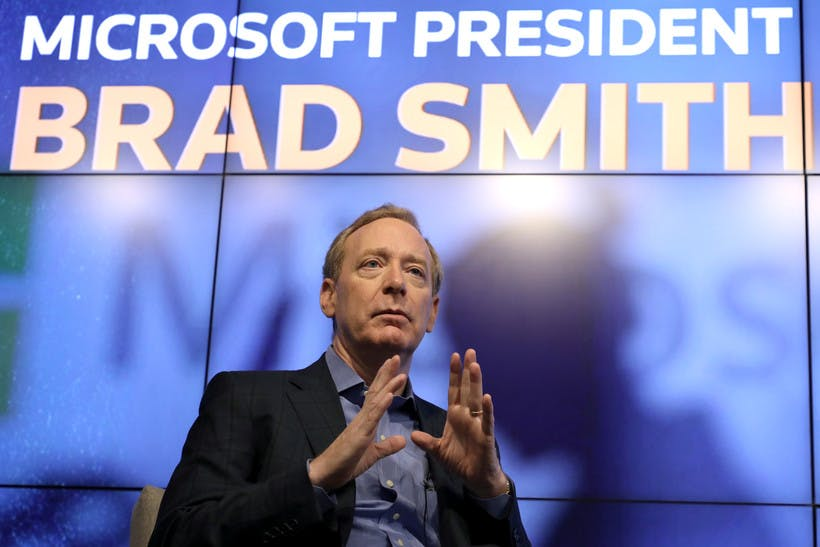 Reuters Newsmaker with Microsoft President Brad Smith