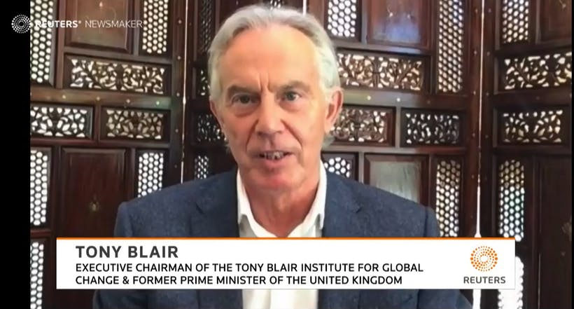 Reuters Newsmaker with Tony Blair