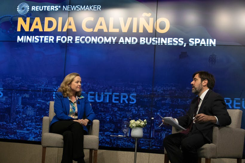 Reuters Newsmaker with Nadia Calviño, Spain's Minister of Economy