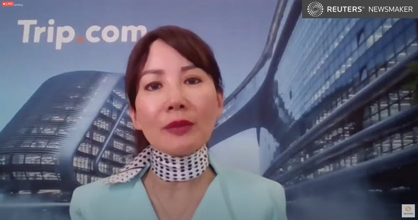 Reuters Newsmaker with Trip.com CEO Jane Sun