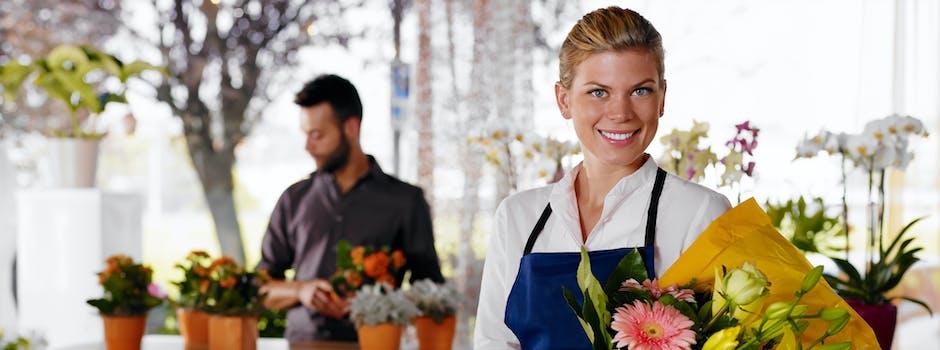 Die schönsten Blumen und Zimmerpflanzen besorgen mit personalisierter Grußkarte und fünf gute Gründe, Zimmerpflanzen und Blumen online zu bestellen bei Regionsflorist banner.