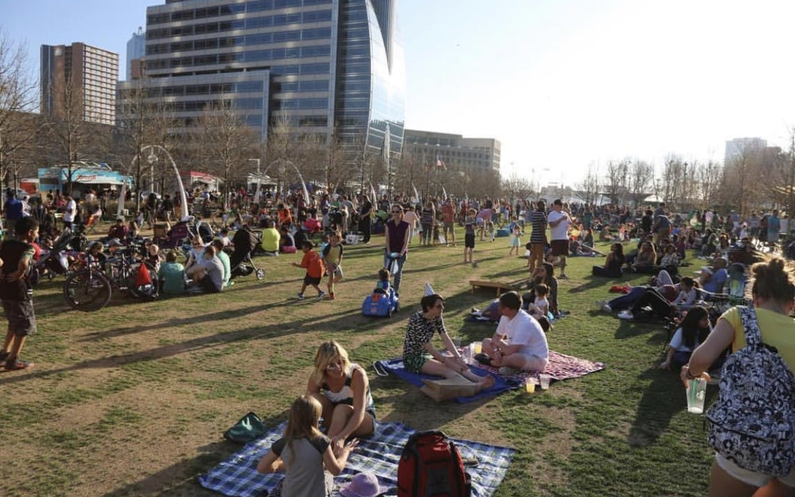 Alto partners with Klyde Warren Park.