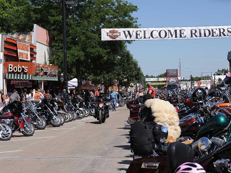 Adult biker events