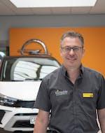 Mitarbeiter Matthias Brunner