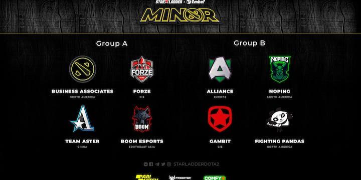 StarLadder ImbaTV Minor preview
