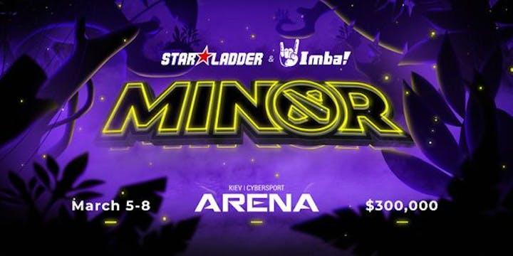 StarLadder ImbaTV Dota 2 Minor Season 3 schedule