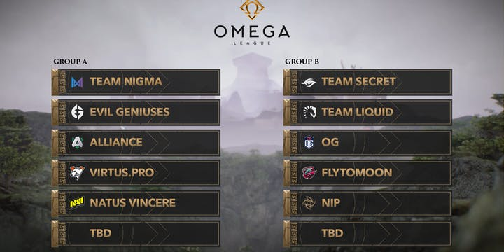 Omega League Groups Released