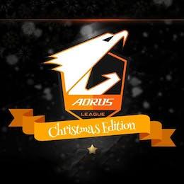 Aorus League Dota 2 Regionals Christmas Edition Event Logo Small