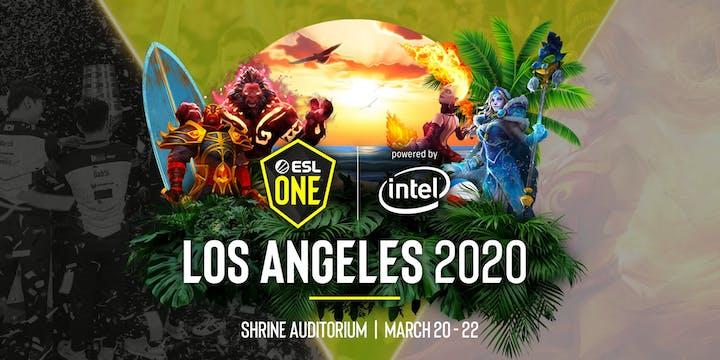 ESL One Los Angeles Major teams and schedule