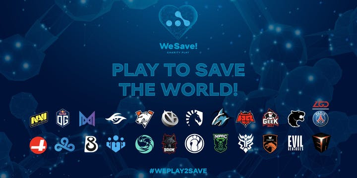 Rivalry joins the #weplay2save campaign