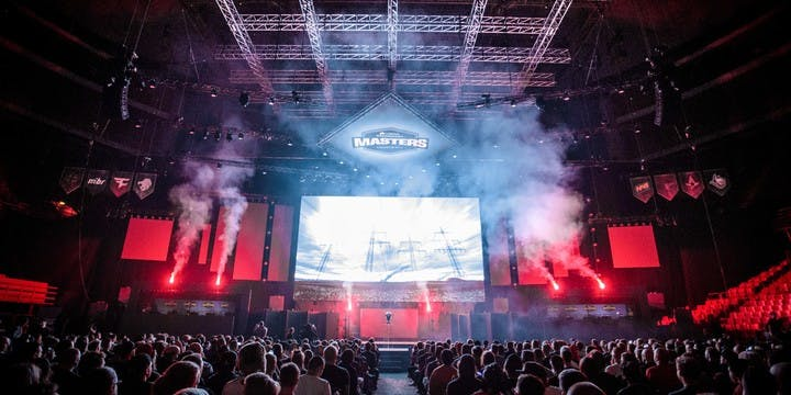Mousesports at Dreamhack Masters Stockholm 2018