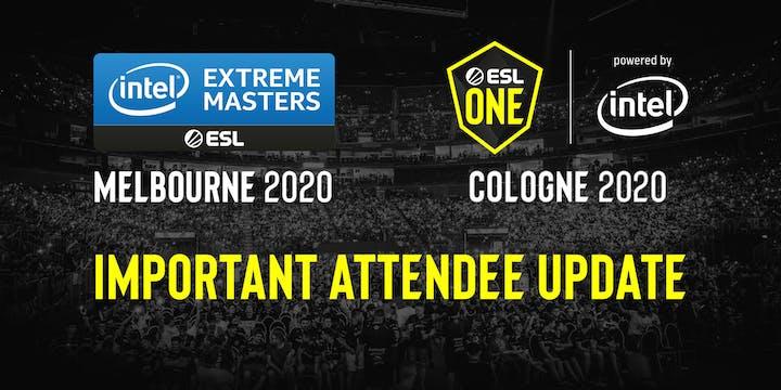 ESL One Cologne moved online