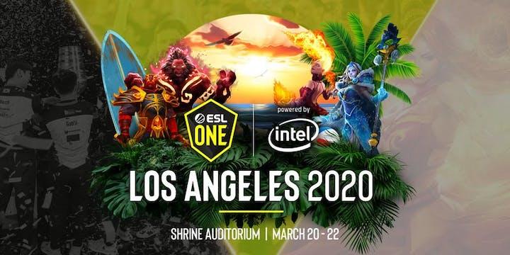 ESL One Los Angeles 2020 - April 2 schedule