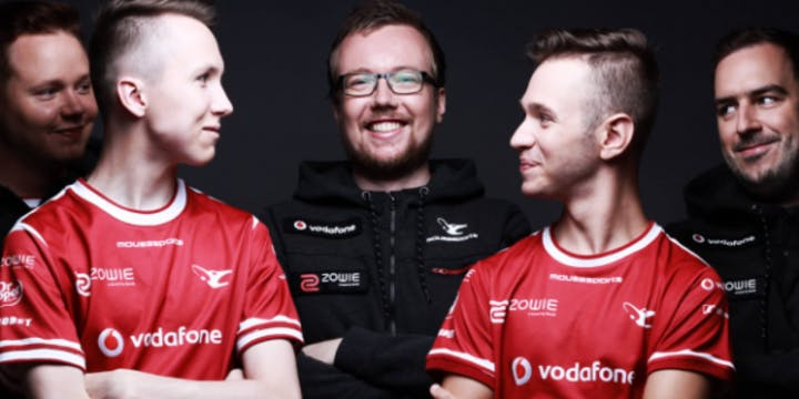 Mousesports CSGO Top 4 Team