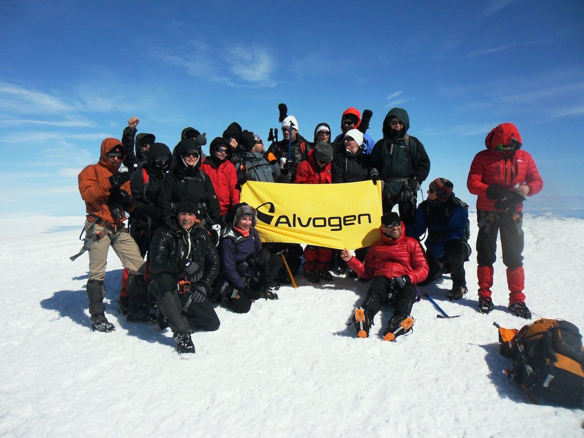 Alvogen mountaineers