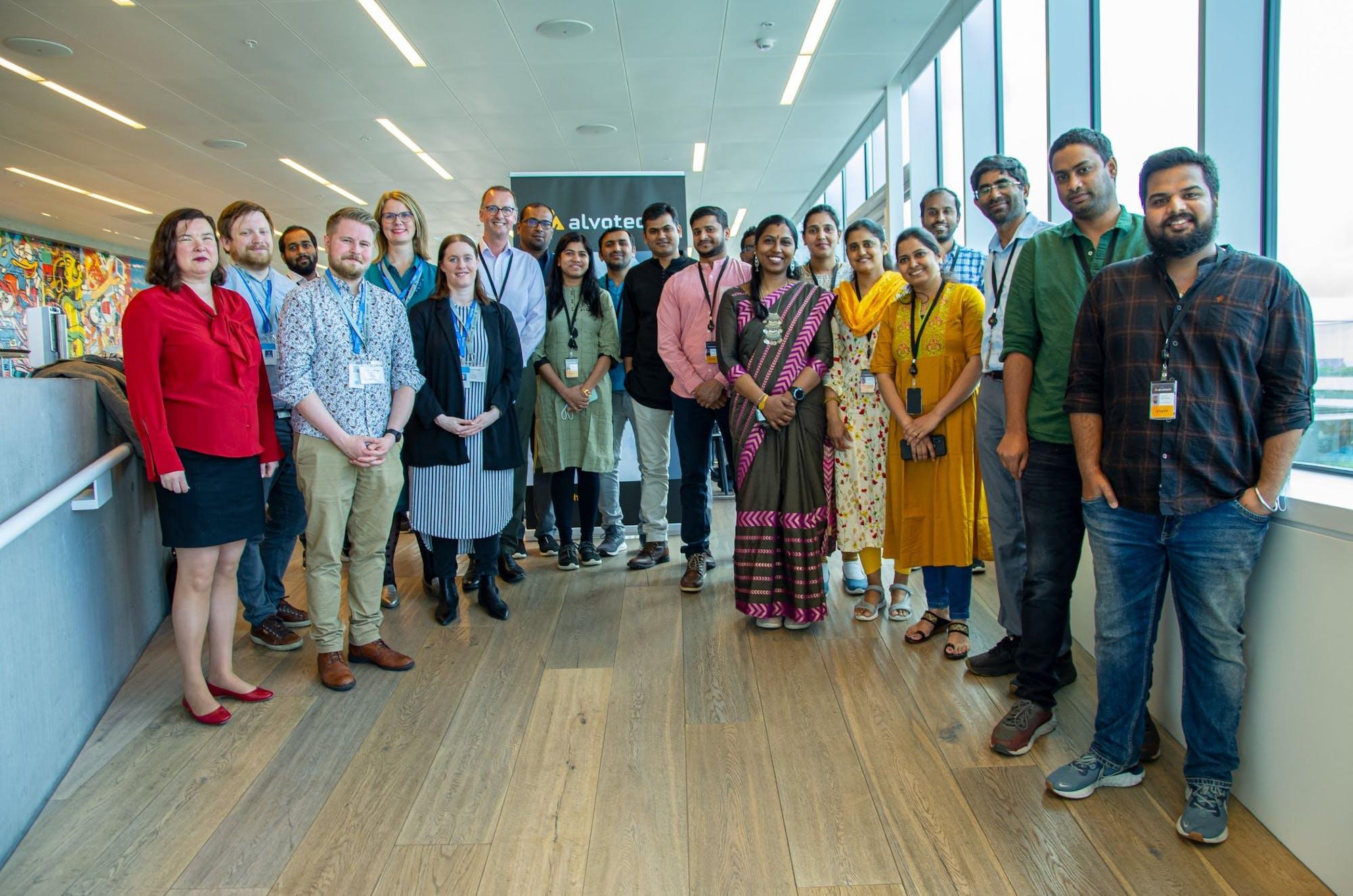 Alvotech fundraising for Unicef