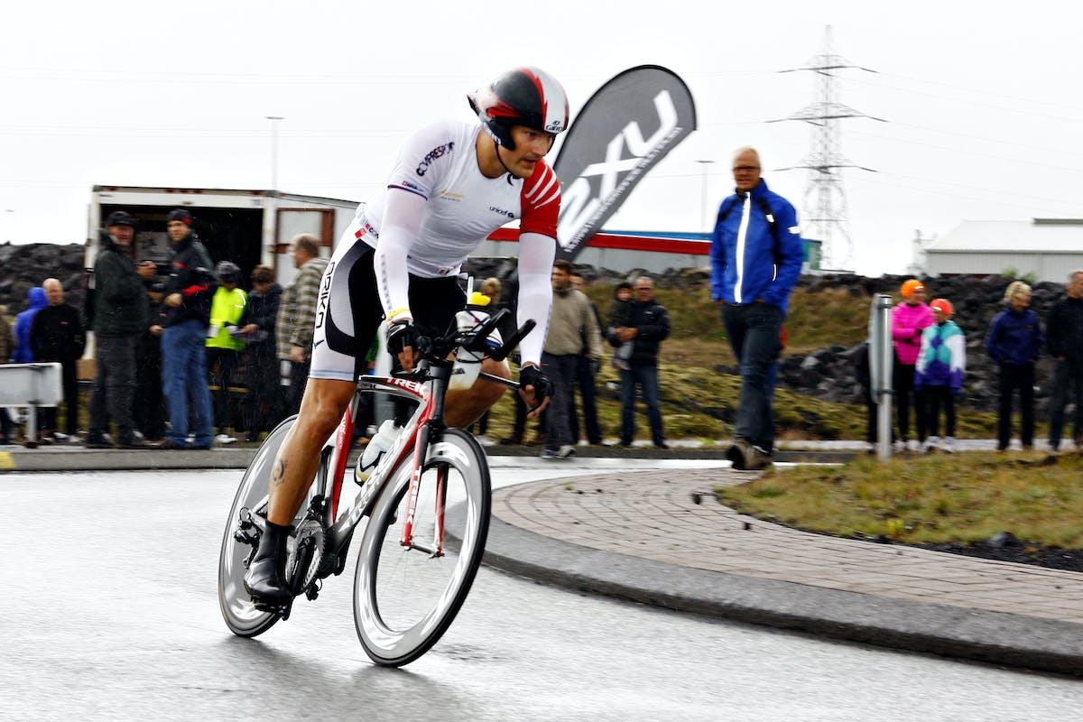 Robert Wessman biking