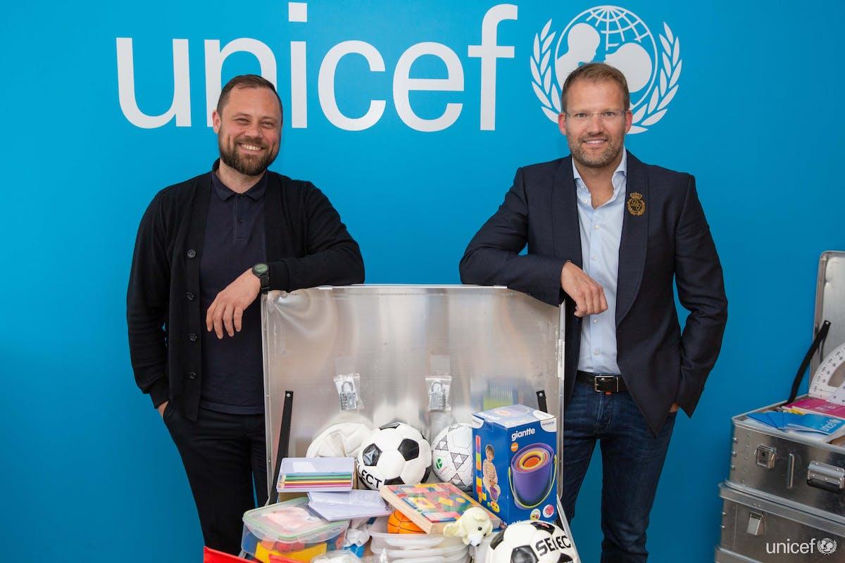 Robert Wessman and Unicef