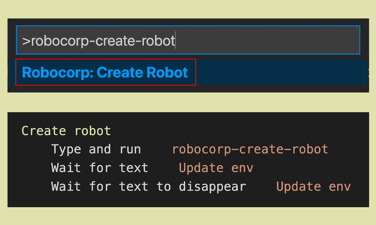 Desktop automation with Robocorp