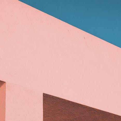 Målad vägg