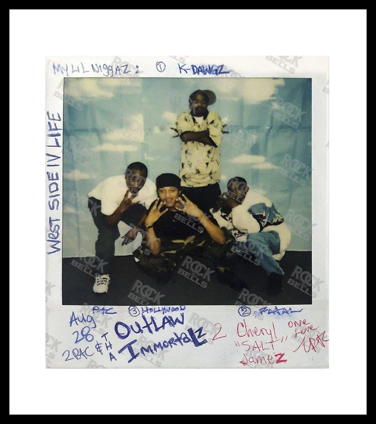 Tupac Polaroid