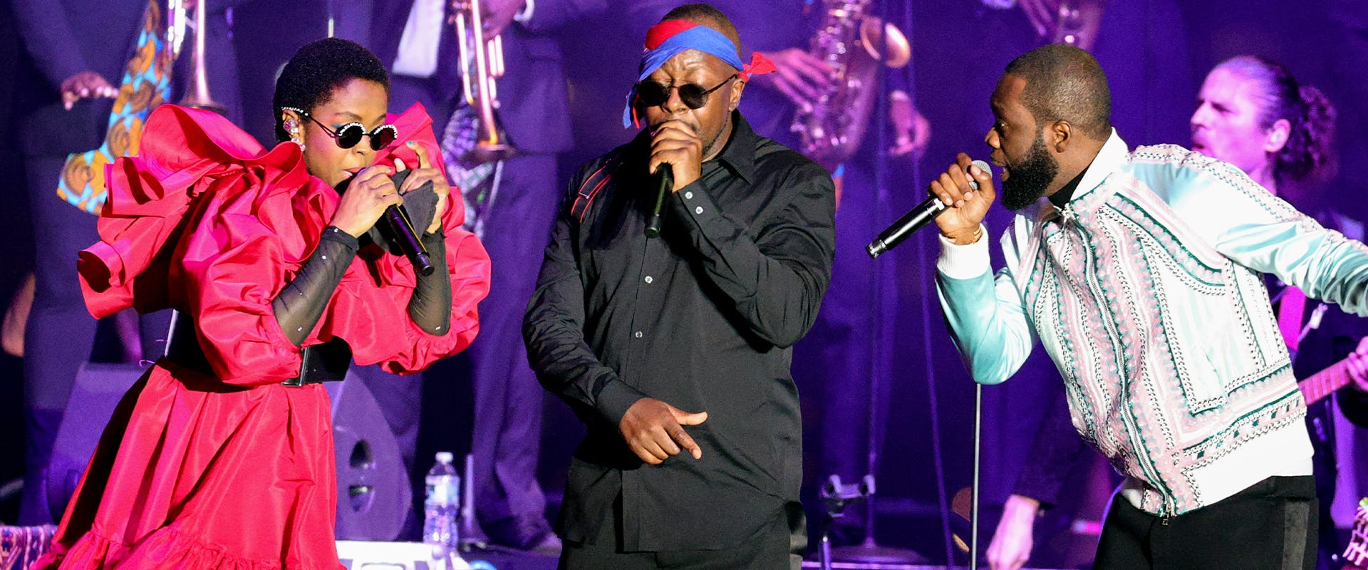 Fugees Performing