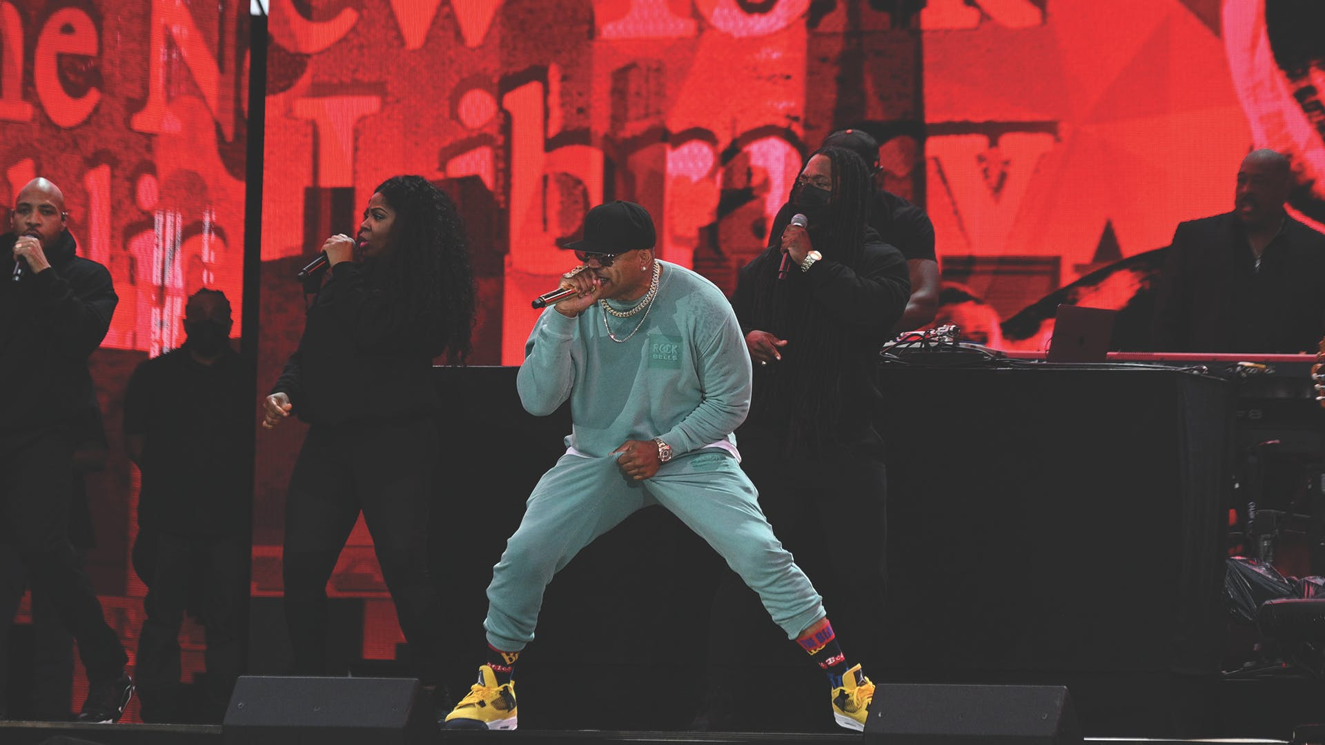 LL COOL J Performing in NYC
