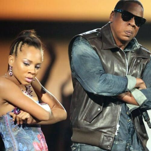 Alicia Keys, Jay-Z, and Lil Mama at 2009 VMAs