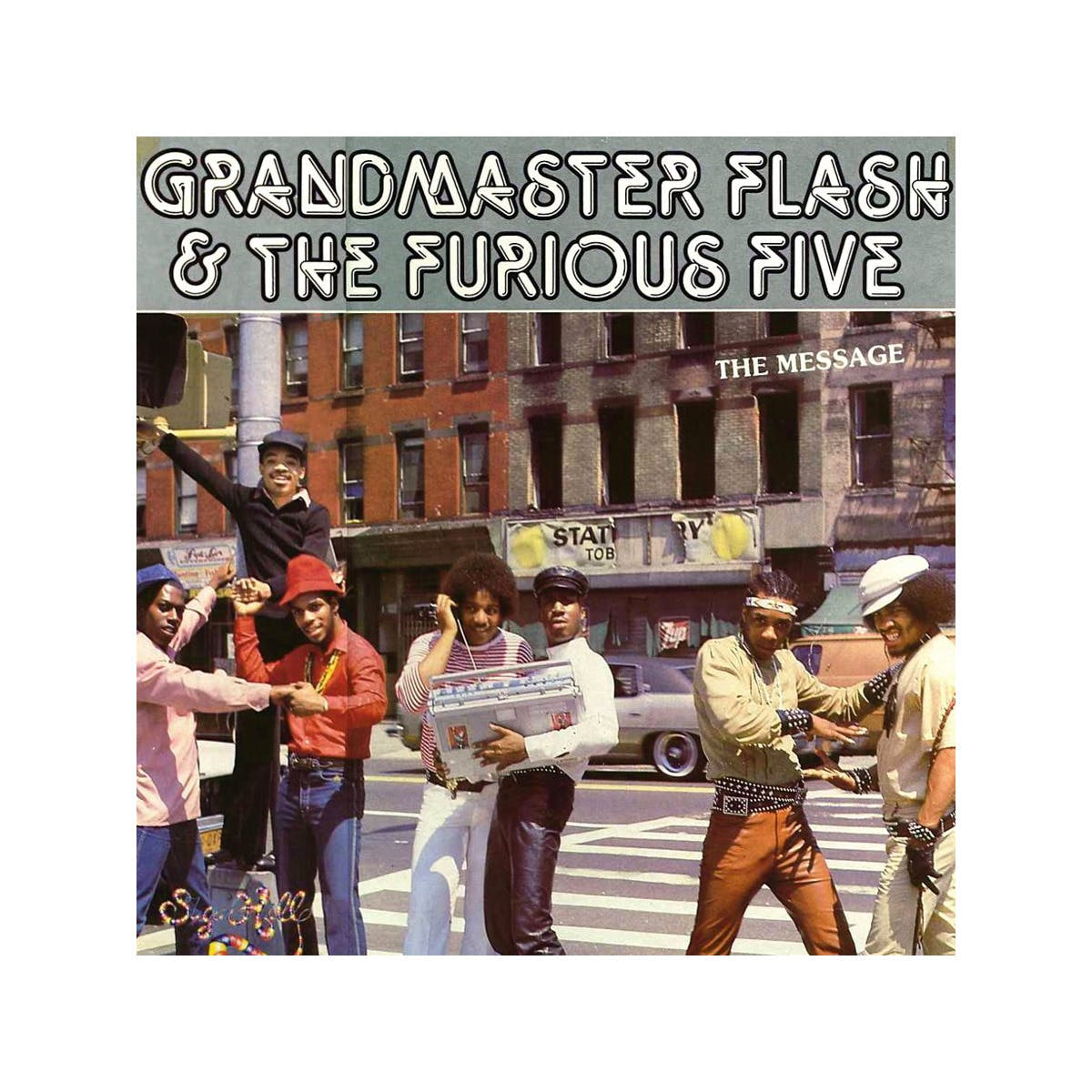 The Message by Grandmaster Flash and The Furious Five