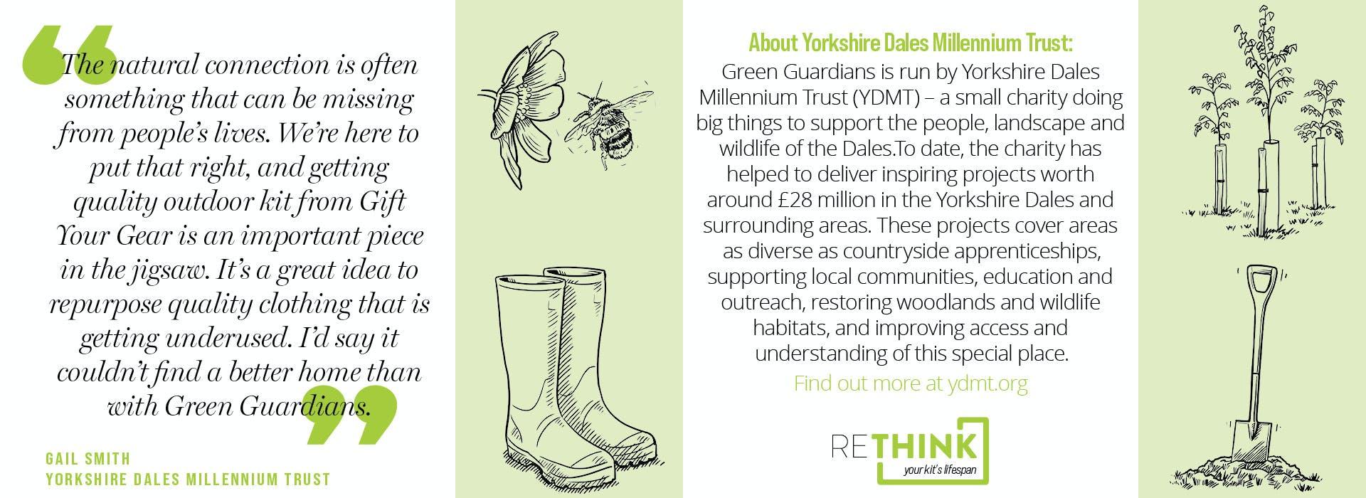 Yorkshire Dales Millennium trust quotes