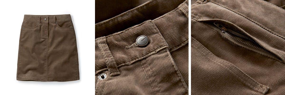 Torres Cord Skirt