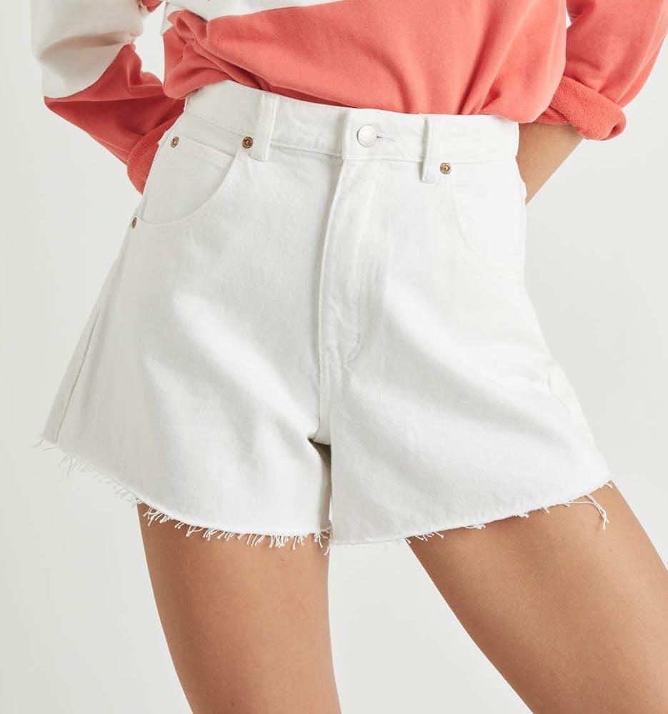 Mirage Short - Vintage White