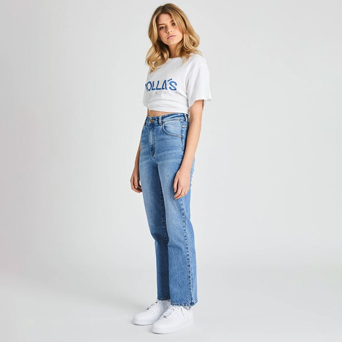 Rolla's Womens Straight Jeans