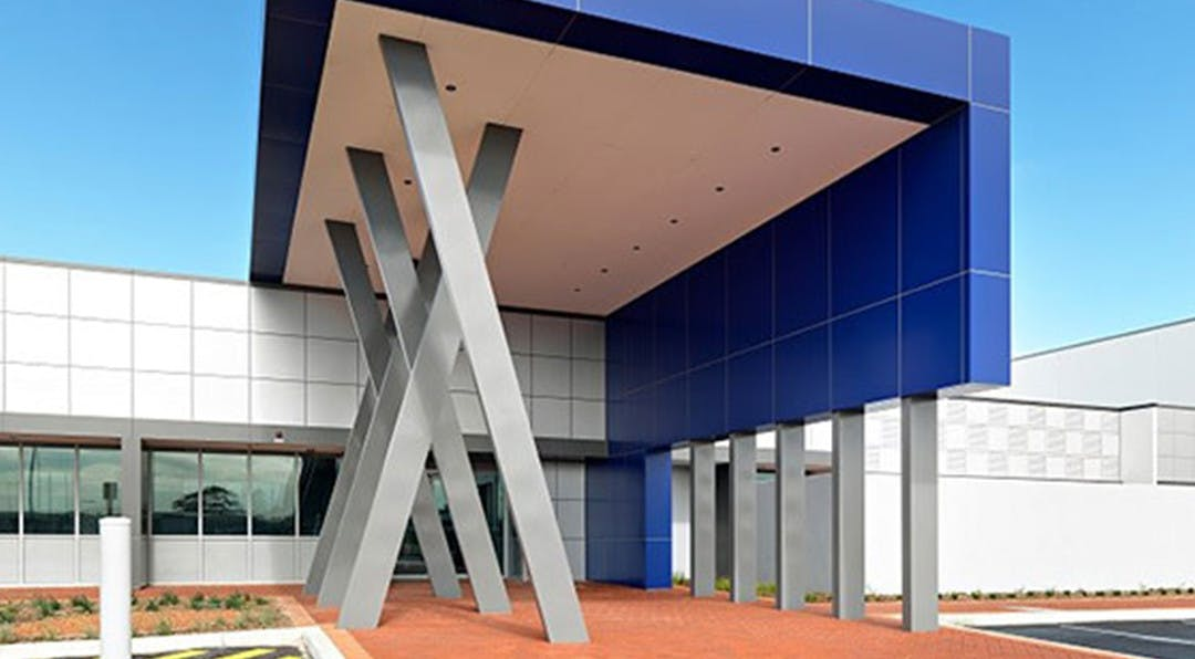 Architectural modern building