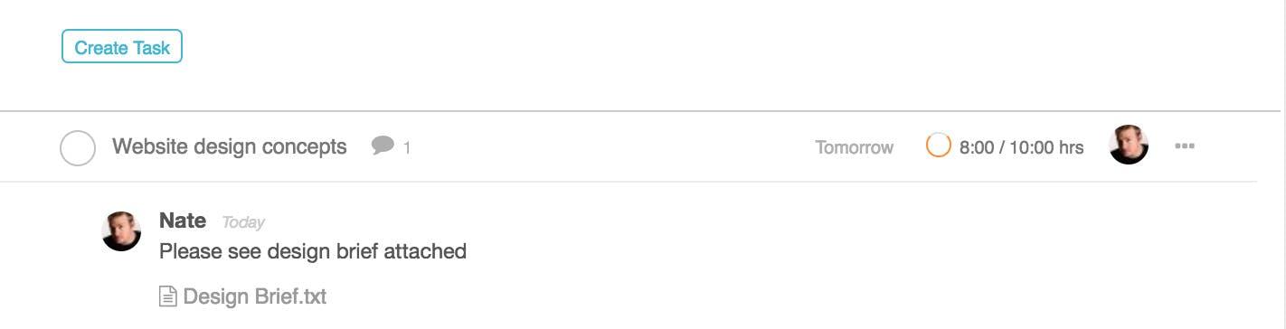 File Uploads on Tasks