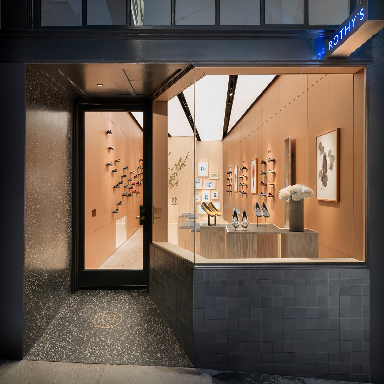 Our store on Fillmore Street in SF shown from the front view.