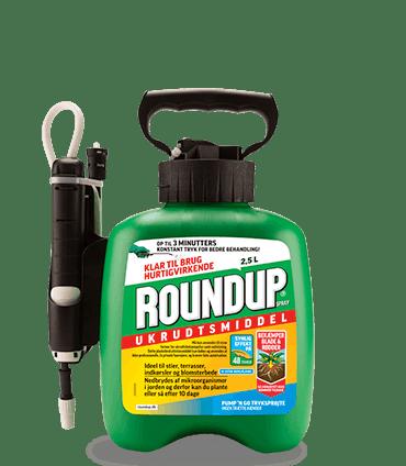Roundup 2.5 liter Ukrudtsmiddel