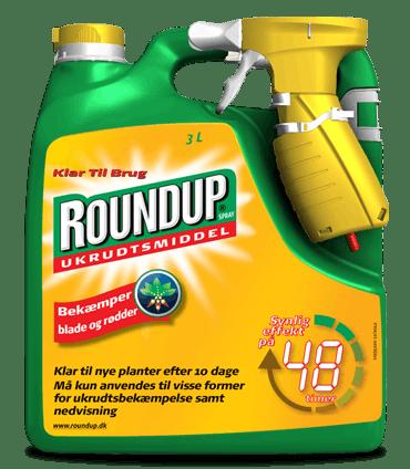 Roundup Spray 3 liter Ukrudtsmiddel