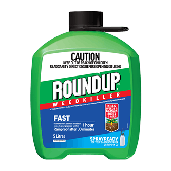 Roundup Fast Action Spray Ready 5.0L