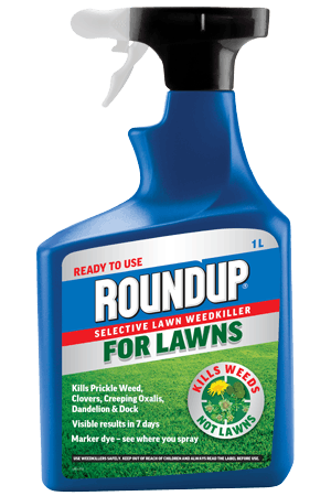 Roundup For Lawns Ready to Use 1L