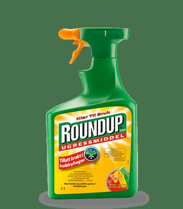 Roundup Turbo 1 liter Ugressmiddel