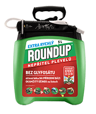 ROUNDUP Extra rychly 5L PnG