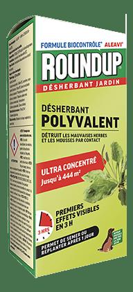 Roundup Désherbant Action Rapide - Bouteille Auto-doseuse 1l