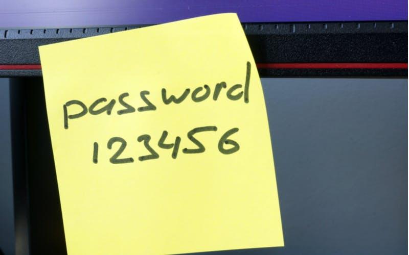 password-sticker