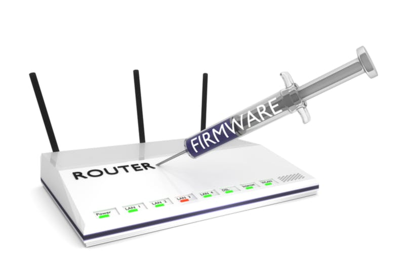router updating firmware