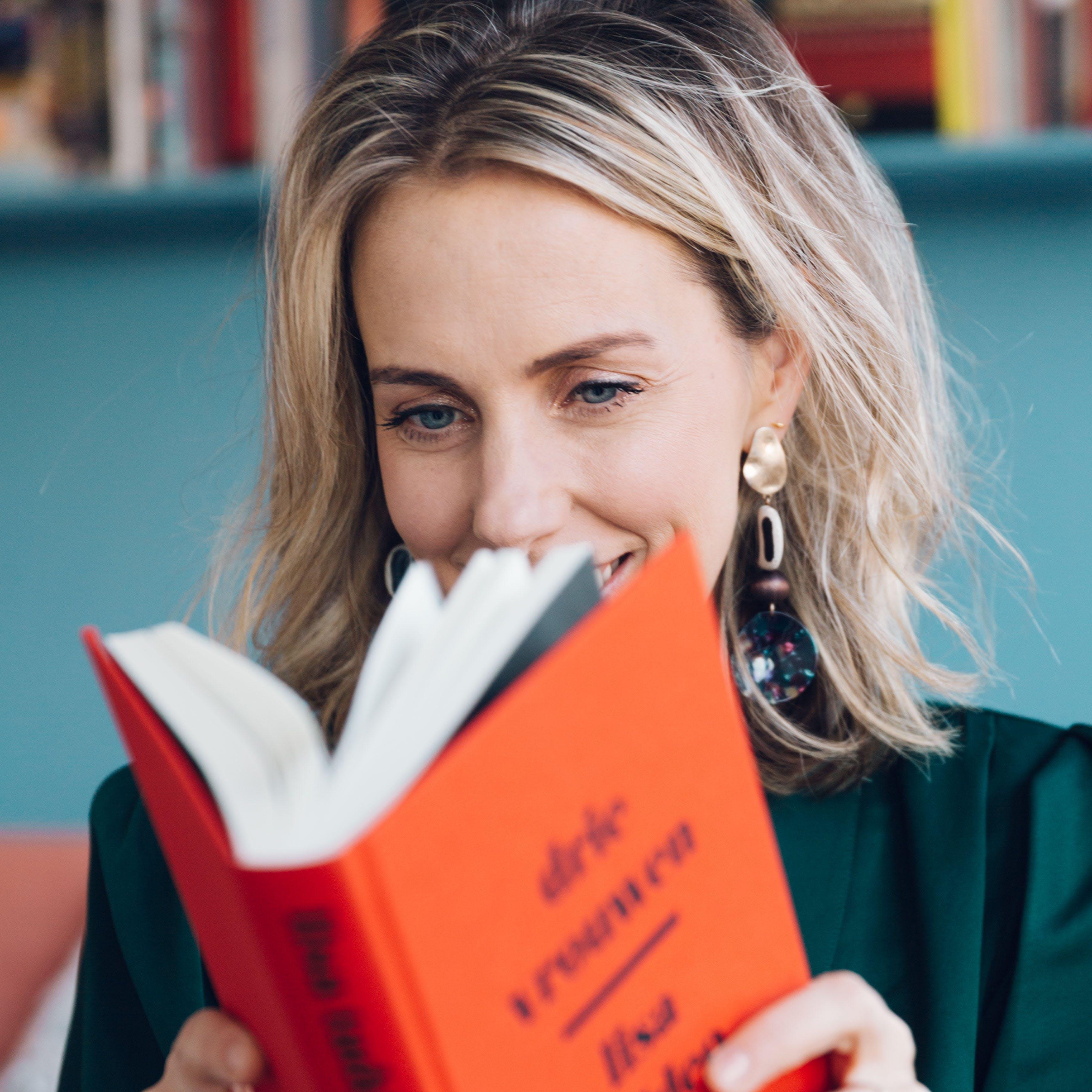 Eva de Visser, oprichter Rouze. Het platform met sexy luisterverhalen.
