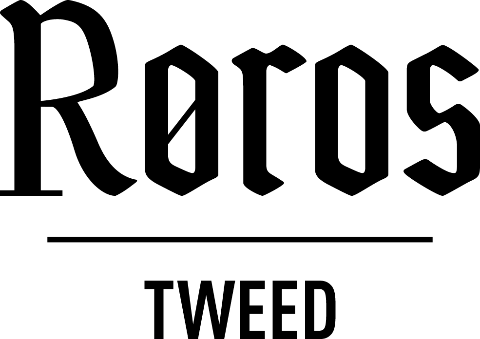 Roros Tweed black logotype