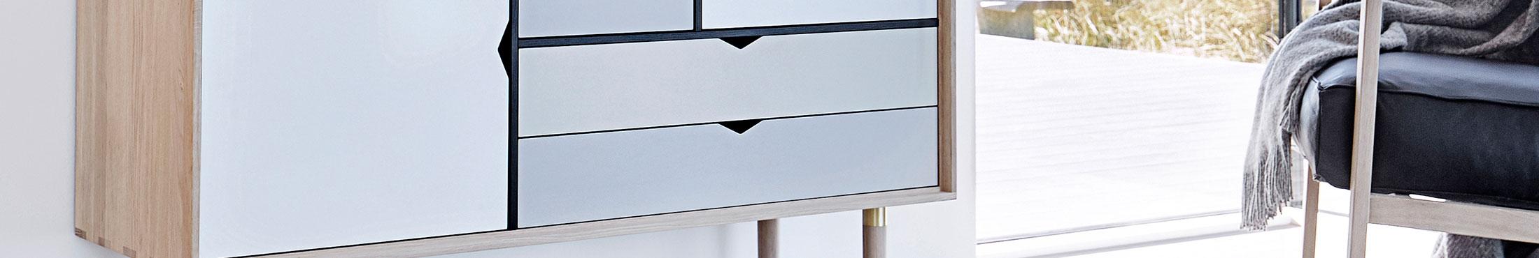 TAC Stol, ValnøttMessingHvit Andersen @ RoyalDesign.no